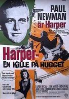 Harper - Swedish Movie Poster (xs thumbnail)