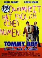 Tommy Boy - German Movie Poster (xs thumbnail)