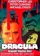 The Satanic Rites of Dracula - German Movie Poster (xs thumbnail)