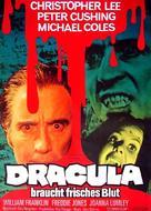 The Satanic Rites of Dracula - German Movie Poster (xs thumbnail)