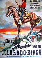L'uomo della valle maledetta - German Movie Poster (xs thumbnail)