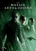The Matrix Revolutions - German DVD movie cover (xs thumbnail)