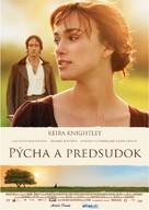 Pride & Prejudice - Slovak Movie Poster (xs thumbnail)