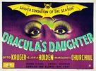 Dracula's Daughter - British Movie Poster (xs thumbnail)