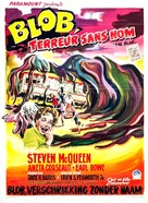 The Blob - Belgian Movie Poster (xs thumbnail)