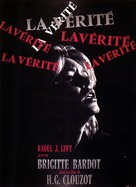 La vérité - French Movie Poster (xs thumbnail)