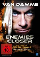 Enemies Closer - German DVD cover (xs thumbnail)
