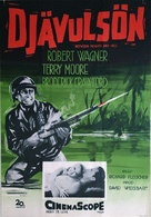 Between Heaven and Hell - Swedish Movie Poster (xs thumbnail)