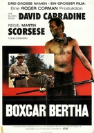 Boxcar Bertha - German Movie Poster (xs thumbnail)