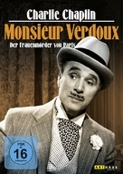 Monsieur Verdoux - German Movie Cover (xs thumbnail)