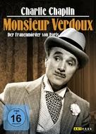 Monsieur Verdoux - German Movie Cover (xs thumbnail)