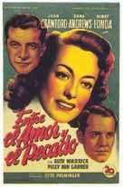 Daisy Kenyon - Spanish Movie Poster (xs thumbnail)