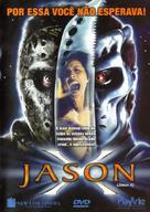Jason X - Brazilian Movie Cover (xs thumbnail)