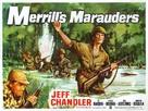 Merrill's Marauders - British Movie Poster (xs thumbnail)