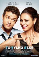 Friends with Benefits - Polish Movie Poster (xs thumbnail)