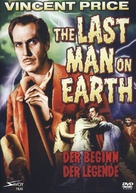 The Last Man on Earth - German DVD movie cover (xs thumbnail)