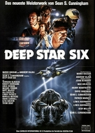 DeepStar Six - German Movie Poster (xs thumbnail)