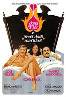 Dona Flor e Seus Dois Maridos - Brazilian Movie Poster (xs thumbnail)