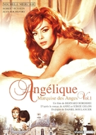 Angélique, marquise des anges - French DVD cover (xs thumbnail)