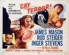Cry Terror! - Movie Poster (xs thumbnail)