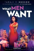 What Men Want - British Movie Poster (xs thumbnail)