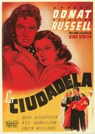 The Citadel - Spanish Movie Poster (xs thumbnail)