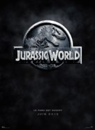 Jurassic World - French Movie Poster (xs thumbnail)