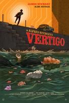 Vertigo - Movie Poster (xs thumbnail)