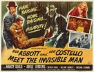 Abbott and Costello Meet the Invisible Man - Movie Poster (xs thumbnail)