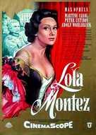 Lola Montès - German Movie Poster (xs thumbnail)