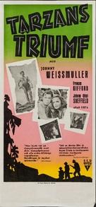 Tarzan Triumphs - Swedish Movie Poster (xs thumbnail)