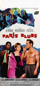 Paris Blues - Italian Movie Poster (xs thumbnail)