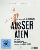 À bout de souffle - German Blu-Ray movie cover (xs thumbnail)