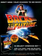 Back to the Future - British Video release poster (xs thumbnail)