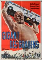 War of the Colossal Beast - German Movie Poster (xs thumbnail)