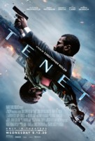 Tenet - Movie Poster (xs thumbnail)