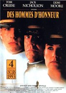 A Few Good Men - French Movie Poster (xs thumbnail)