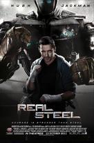 Real Steel - Malaysian Movie Poster (xs thumbnail)