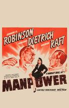 Manpower - Movie Poster (xs thumbnail)
