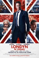 London Has Fallen - Polish Movie Poster (xs thumbnail)