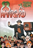 Amarcord - Brazilian DVD movie cover (xs thumbnail)