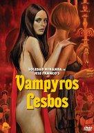 Vampiros lesbos - DVD cover (xs thumbnail)