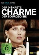 Le charme discret de la bourgeoisie - German DVD cover (xs thumbnail)