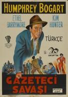 Deadline - U.S.A. - Turkish Movie Poster (xs thumbnail)