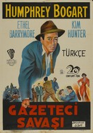 Deadline - U.S.A. - Turkish Movie Poster (xs thumbnail)