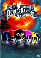 Mighty Morphin Power Rangers: The Movie - DVD cover (xs thumbnail)