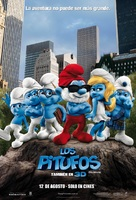 The Smurfs - Argentinian Movie Poster (xs thumbnail)