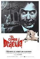 Nachts, wenn Dracula erwacht - Spanish Movie Poster (xs thumbnail)