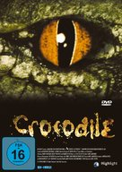 Crocodile - German DVD cover (xs thumbnail)