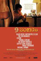 9 Songs - poster (xs thumbnail)